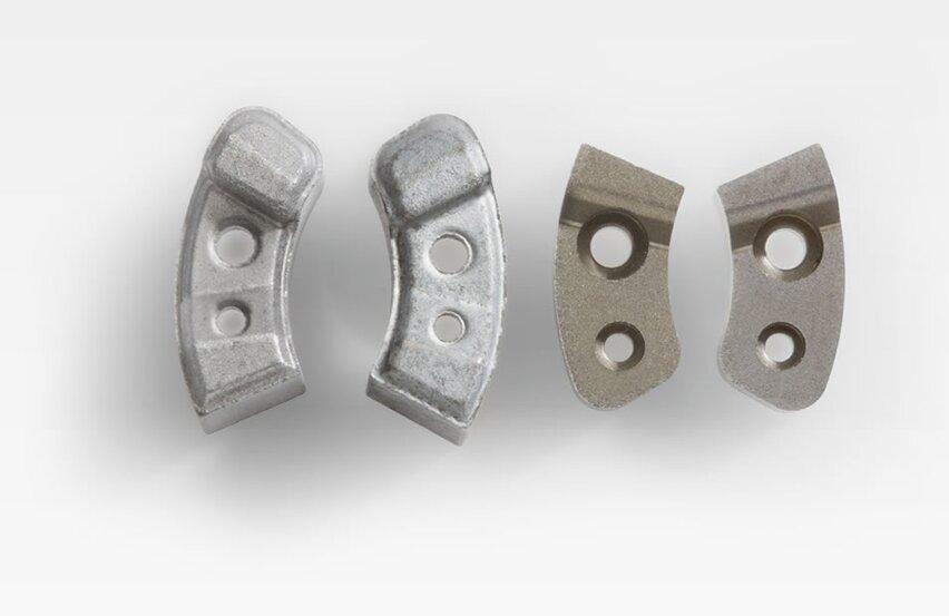 Blades as functional parts for belt retractors
