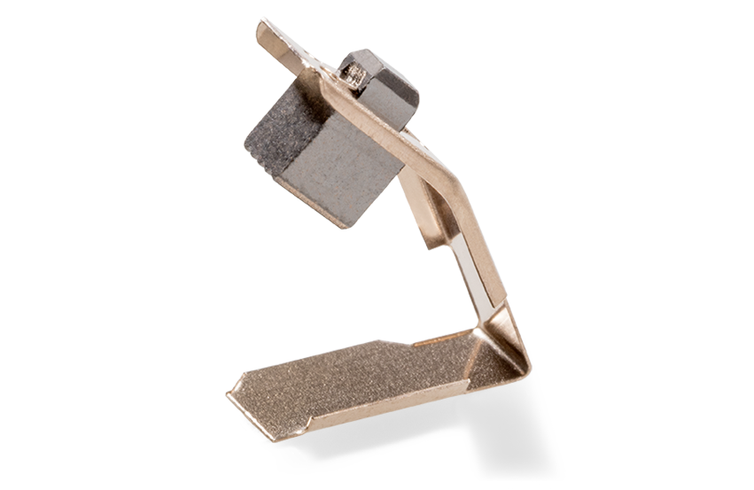 carbon brushes for the electric motors of window lifters and sun roofs.
