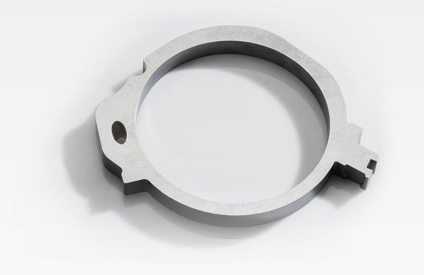 Guide ring for crankshaft oil pumps